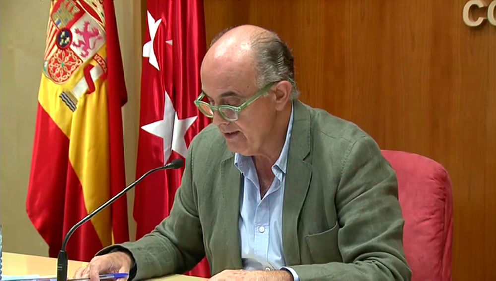 Antonio Zapatero anuncia las nuevas zonas confinadas