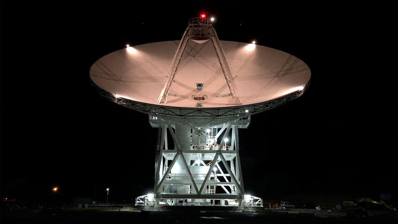 Nueva antena en la NASA de Robledo de Chavela
