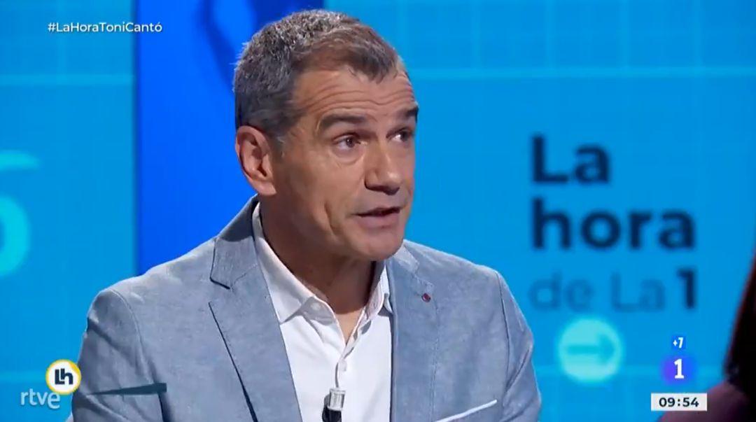 Toni Cantó en TVE