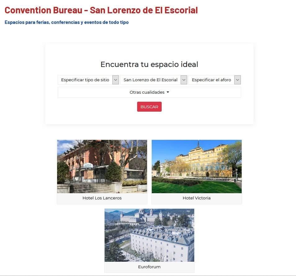Convention Boureau San Lorenzo de El Escorial
