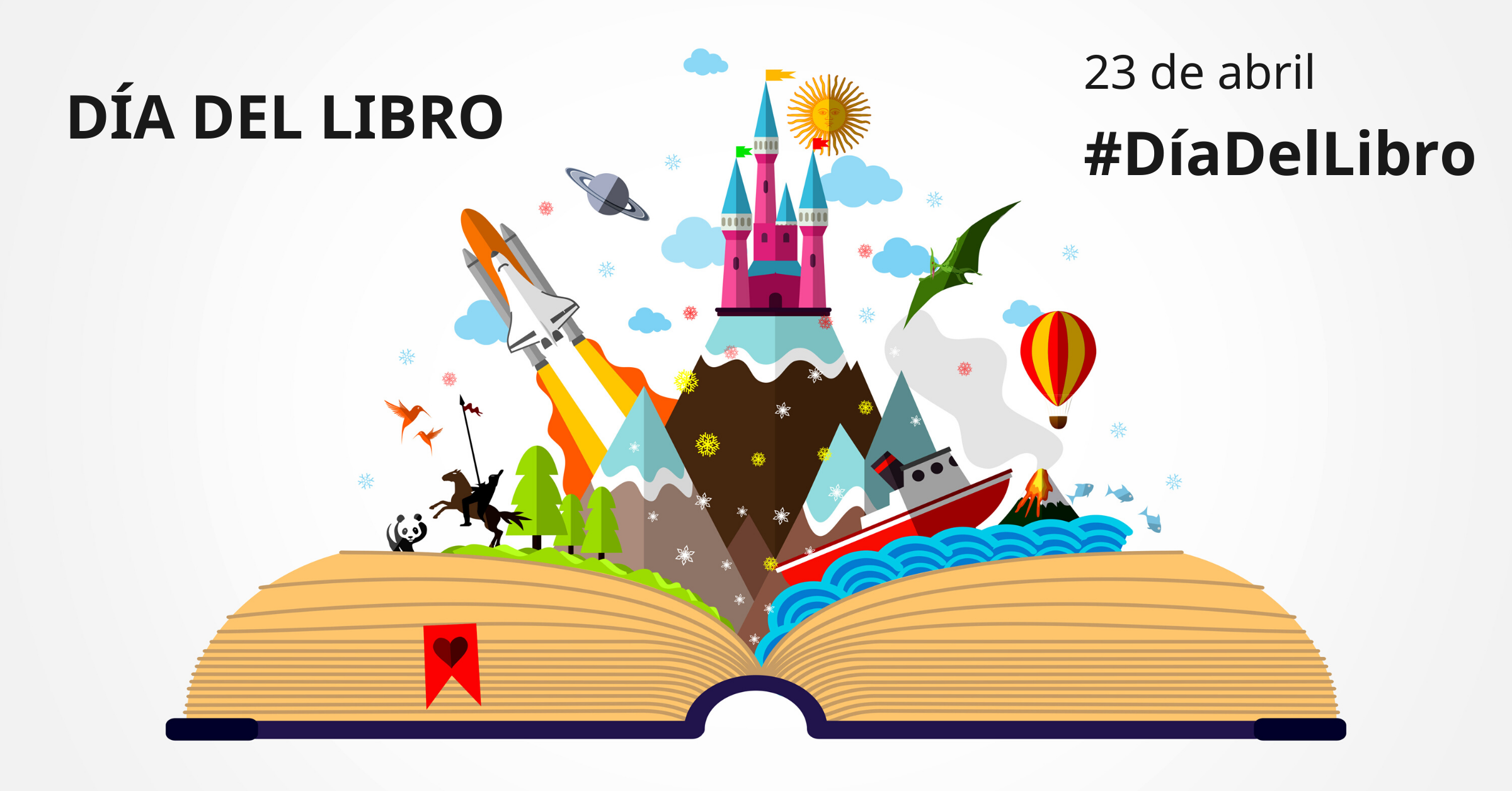 23 de abril, Día del Libro elegido por la Unesco.