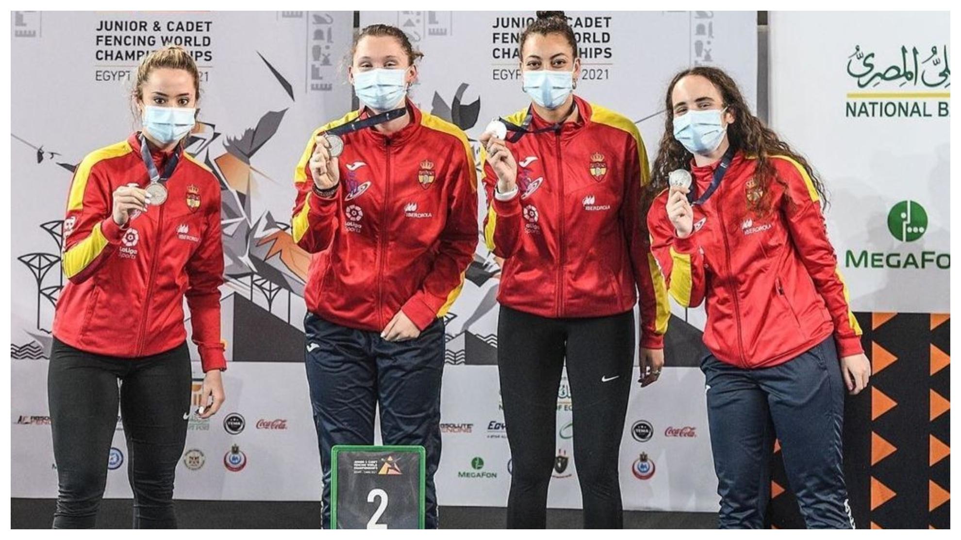 Equipo Español Femenino Junior Esgrima