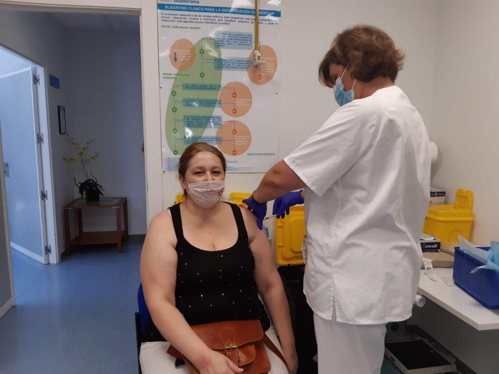 Hospital Guadarrama Vacunacion